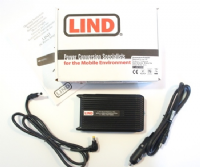 Lind CF-LND80S-FD DC Panasonic Toughbook 12-16 Vdc Car Charger / Adaptor / PSU - New